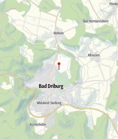 Karte / Wohnmobilhafen Driburg Therme
