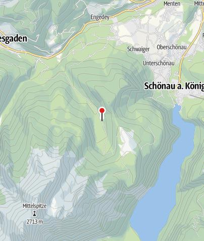 Karte / Schapbachalm