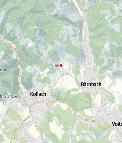 Karte / Arena Lipizzanergestüt Piber