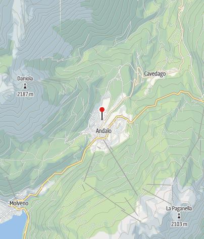 Cartina / AcquaIN - Piscina e Benessere ad Andalo