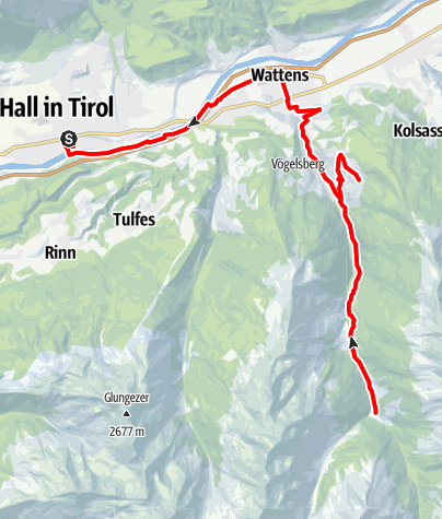 Map / Wattener Runde