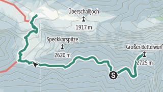 Map / Karwendel Höhenweg - Etappe 5