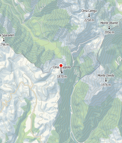 Karte / Monti Lessini - Piccole Dolomiti