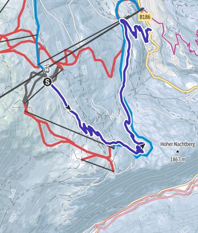Map / Toboggan Run Stiegele - Sölden