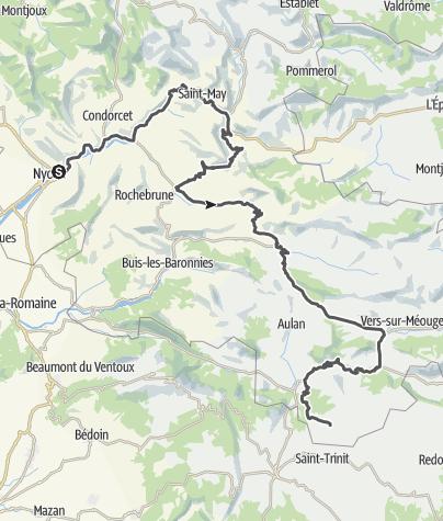 Map / Routes de la Lavande: Into the Baronnies Provençales !