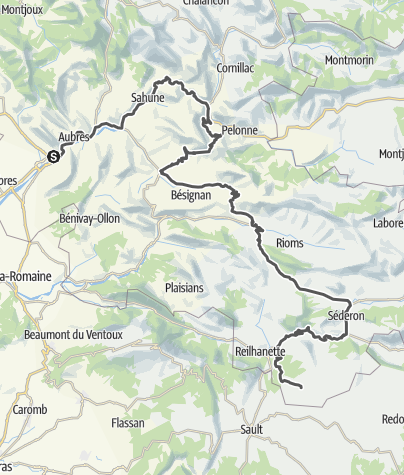 Map / Routes de la Lavande: Into the Baronnies Provençales !