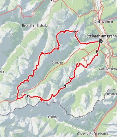 Kaart / Ontdek het Gschnitztal