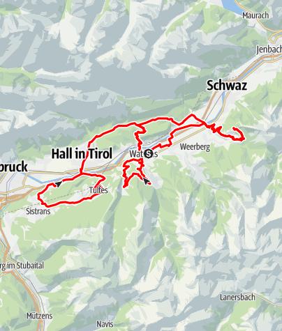 Map / Die Inntalschaukel