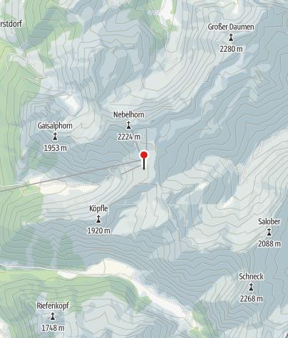 Mapa / Gaiß-Alpe