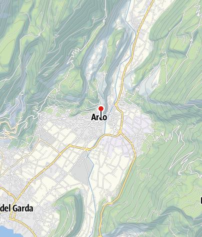 Karte / Mehrseillängen Sportklettern – Gardasee