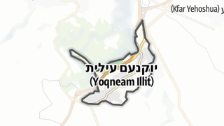 Carte / Yokne'am Ilit