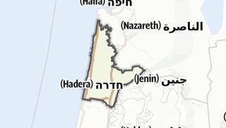 Cartina / Hadera
