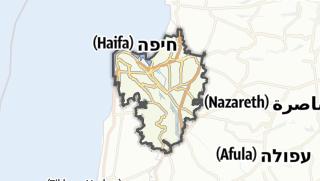 Cartina / Haifa