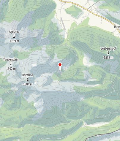 Karte / Schellenberg-Alm