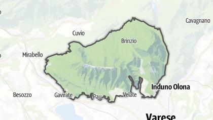 Mapa / Parco del Campo dei Fiori