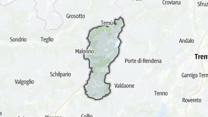 Mapa / Parco Dell´Adamello