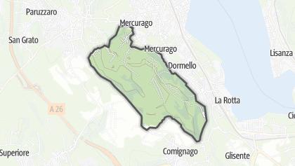 地图 / Parco Nat. Lagondi di Mercurago