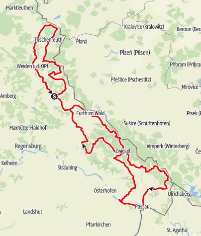 Map / Glasstraße