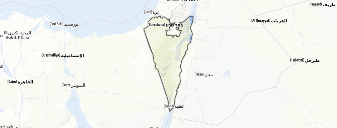 地图 / 在Negevwüste里的博物馆