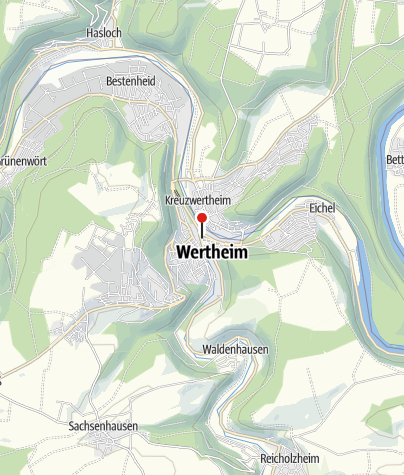 Karte / Liebliches Taubertal - Der Klassiker in 4 Tagen