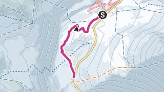 Carte / Randonnée hivernale Simplonpass