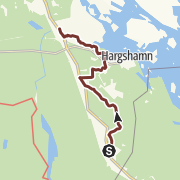 Map / Part 5 of the Viking trail, Sanda to Harg