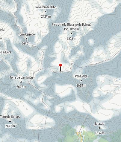 Mapa / Parque Nacional Picos de Europa