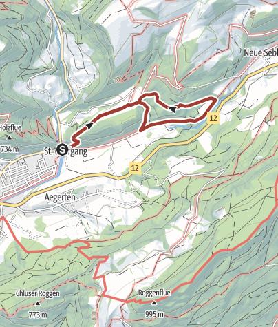 Map / Holzweg Thal