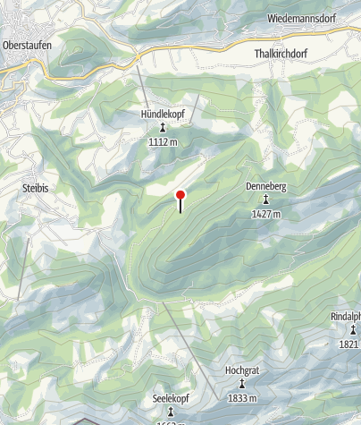 Karte / Alpe Hohenschwand