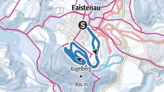 Karte / Langlaufen Faistenau