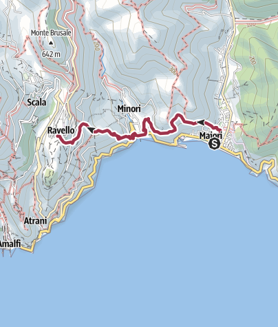 Map / Maiori Minori Ravello