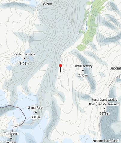Map / Rifugio Benevolo