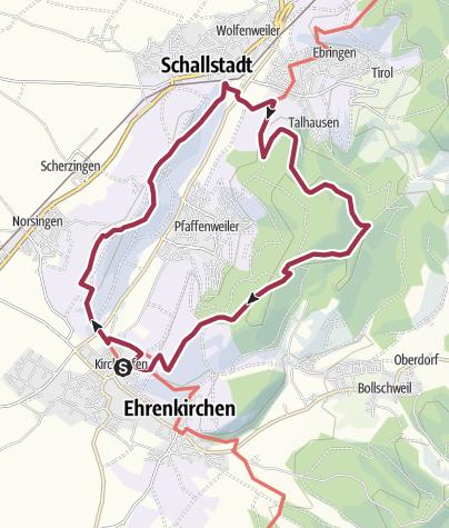 Karte / Batzenbergrunde