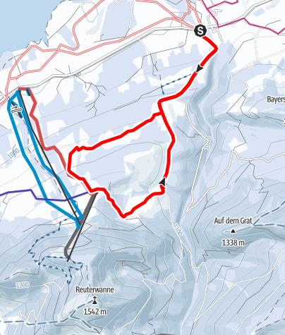 Schneeschuhrunde Zur Buronhutte Urlaubsregion Allgau