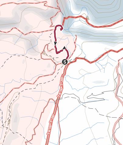 מפה / מסלול הליכה בבירכת צפירה