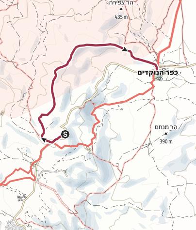 מפה / דרך הגמלים
