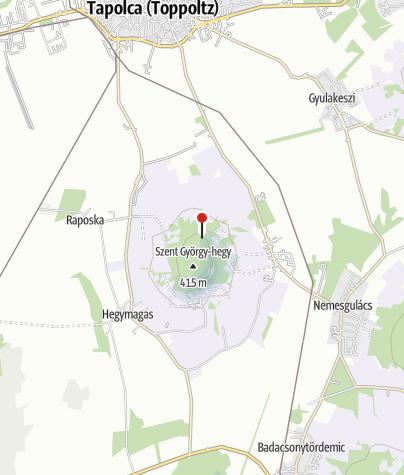 Térkép / Bazaltorgonák (Szent György-hegy)