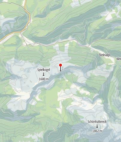 Karte / Waxenegghütte