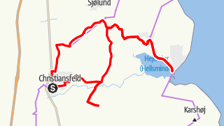 Map / Christiansfeld-Route