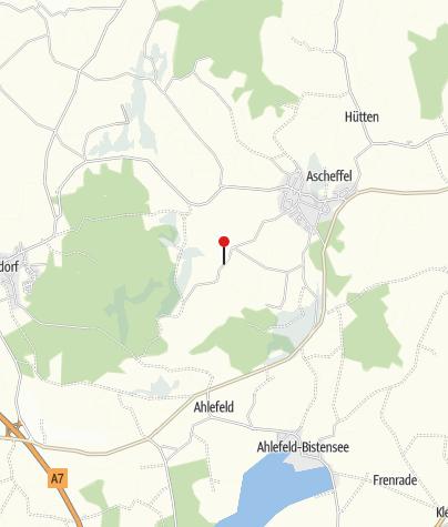 Karte / Friedenspfahl und Aussichtspunkt
