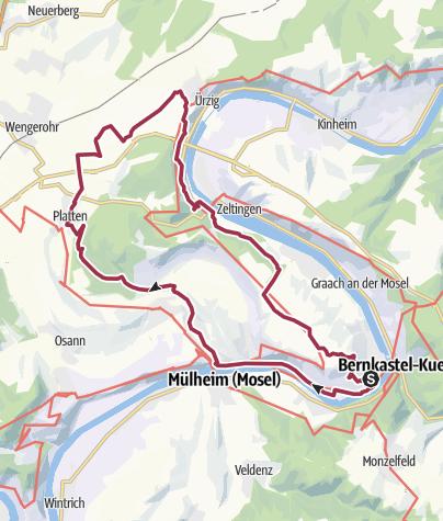 Karte / Nachtschleife 24h-Wanderung 2018