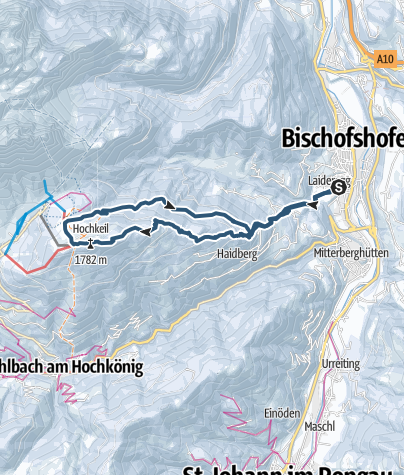Map / Skitour Hochkeil