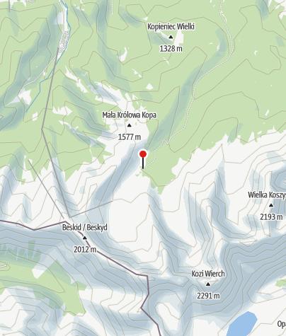 Karte / Schronisko Murowaniec