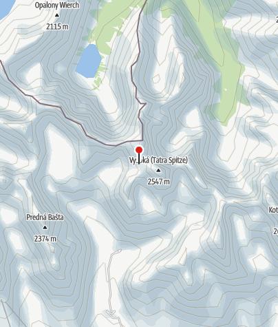 Karte / Chata Pod Rysmi