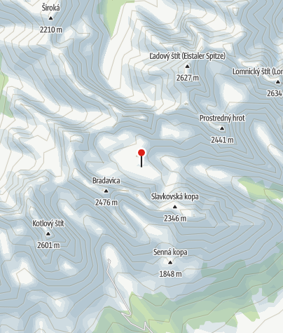 Map / Zbojnícka Chata