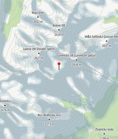 Cartina / Téryho Chata