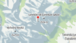Map / Téryho Chata