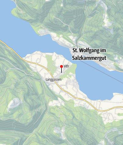 Karte / Radfahren im Salzkammergut