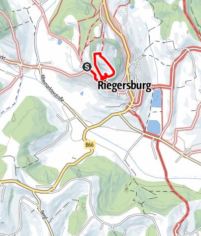 Map / Klettersteige (C) auf der Riegersburg