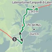Mappa / Ferrata dei Campanili